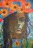 Skrybėlaitė su ramunėmis 2002 Sold