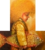 SVAJONIŲ ŽUVIS 2011/ 100x90 cm (Įrėmintas)/ 2200 eur.
