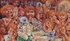 PETRIUKO GIMTADIENIS 2014/ 90x150 cm (Įrėmintas)/ 2600 eur.